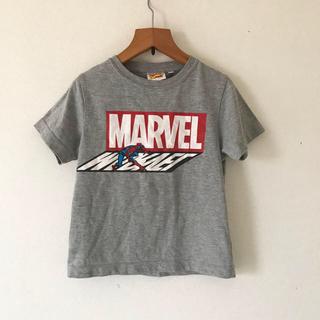 ジーユー(GU)のGU Tシャツ MARVEL グレー(Tシャツ/カットソー)