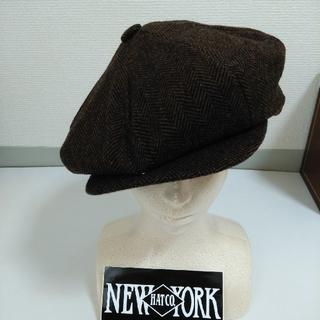 ニューヨークハット(NEW YORK HAT)のニューヨークハット ヘリンボーン キャスケット(キャスケット)