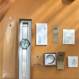 ジュスト(JU'STO)の【JU'STO J-WATCH文字盤ビッグ】フォレストムーミン(腕時計)