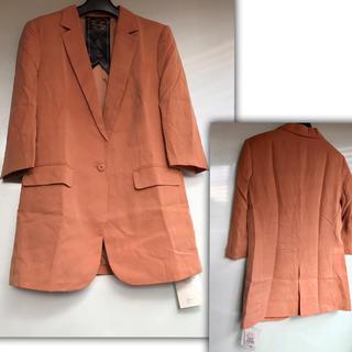 カリアング(kariang)の KariAng ピーチスキン ジャケット 七分袖 Mサイズ (テーラードジャケット)