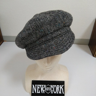 ニューヨークハット(NEW YORK HAT)のニューヨークハット ツイード キャスケット(キャスケット)