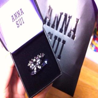 アナスイ(ANNA SUI)のANNA SUI 三連リング♡未使用(リング(指輪))