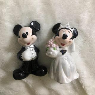 ディズニー(Disney)のミッキー ミニー ソルト ペッパー(テーブル用品)