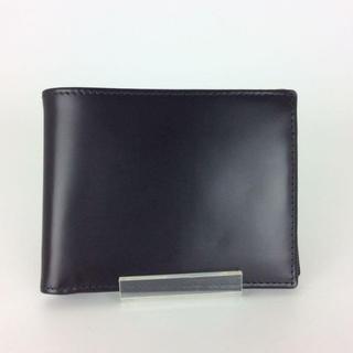 エッティンガー(ETTINGER)のエッティンガー 二つ折り財布 ブラック 黒 A80183(折り財布)