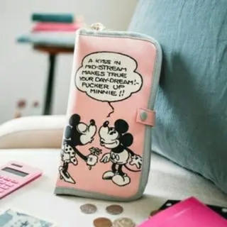 ディズニー(Disney)の専用☆ゼクシィ 付録 ミッキー&ミニー マルチケース(母子手帳ケース)