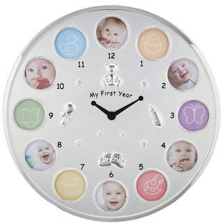 時計 ベビーフレーム 新品未使用品(フォトフレーム)