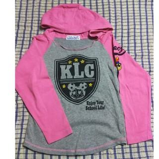 ケーエルシー(KLC)のK.L.C パーカー130㎝(Tシャツ/カットソー)