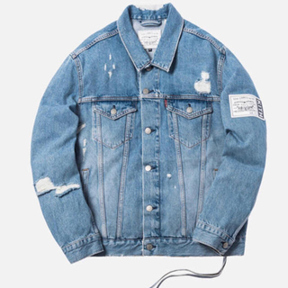 KITH LEVI'S THRASHED TRUCKER JACKET