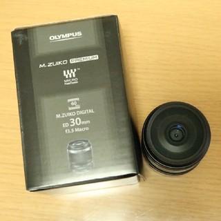 オリンパス(OLYMPUS)のM.ZUIKO DIGITAL ED30mm f3.5 Macro(レンズ(単焦点))