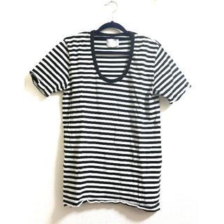 ウェアラバウツ(WHEREABOUTS)のWHEREABOUTS ウェアラバウツ カットソー Tシャツ ボーダー(Tシャツ/カットソー(半袖/袖なし))