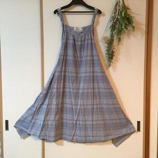 チアー(CHEER)のcheer札幌 浅草 サンプル品 エプロンワンピース(ひざ丈ワンピース)