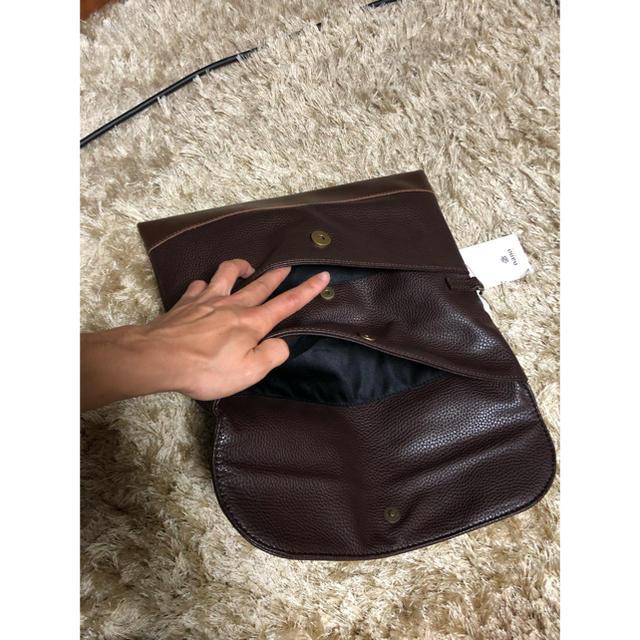 nano・universe(ナノユニバース)のナノユニバース クラッチバッグ ダークブラウン メンズのバッグ(セカンドバッグ/クラッチバッグ)の商品写真