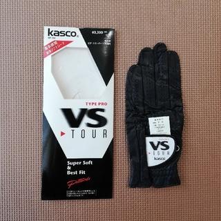 キャスコ(Kasco)のキャスコ ゴルフグローブ 22cm ブラック(その他)