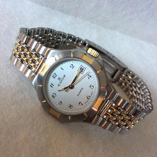 エドックス(EDOX)のお買得‼️EDOX  エドックス コンビ レディース 腕時計(腕時計)