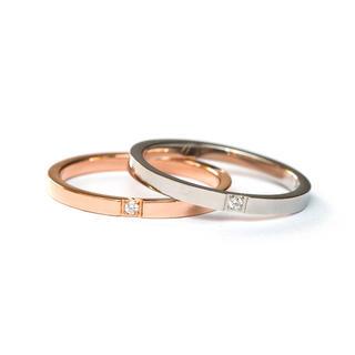 キラキラ1ポイント☆関節リング ピンキーリング サージカルステンレスリング指輪(リング(指輪))