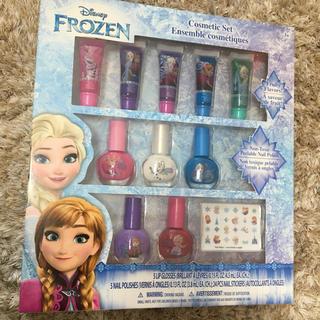 ディズニー(Disney)のリップグロス ネイル マニキュア アナと雪の女王 子供用(リップグロス)