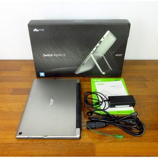 エイサー(Acer)のAcer Switch Alpha 12型 水冷2in1 タブレットPC(タブレット)