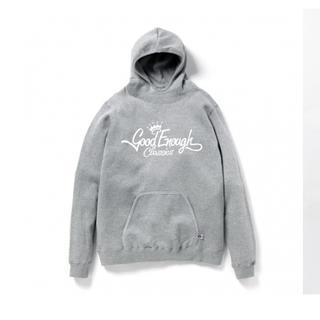 グッドイナフ(GOODENOUGH)のGOODENOUGH classics logo vented hoodie(パーカー)