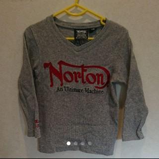 ノートン(Norton)のNorton キッズ 長袖 Tシャツ(Tシャツ/カットソー)