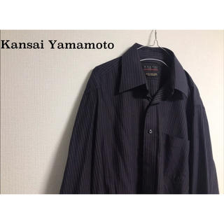 カンサイヤマモト(Kansai Yamamoto)の90's ビンテージ 古着 ヤマモトカンサイ ストライプ シャツ(シャツ)
