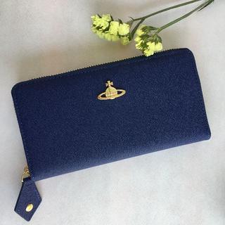 ヴィヴィアンウエストウッド(Vivienne Westwood)のヴィヴィアン ウエストウッド  長財布 小銭入れ レディース 55306 ブルー(財布)