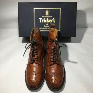 トリッカーズ(Trickers)のぴろ様専用 Tricker's トリッカーズ   カントリーブーツ UK5.5(ローファー/革靴)