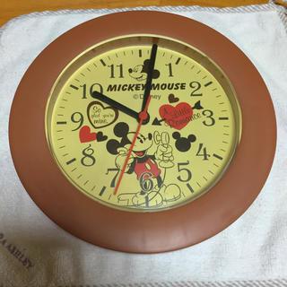 ディズニー(Disney)のディズニー ミッキーマウス 掛け時計(掛時計/柱時計)