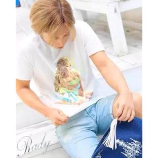 レディー(Rady)のかすれリボンちゃんTシャツ 松岡充さん着用(Tシャツ/カットソー(半袖/袖なし))