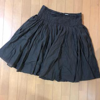 アスペジ(ASPESI)のASPESI ボリュームスカート 裏地付き 40(ひざ丈スカート)
