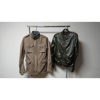 ダブルジェーケー(wjk)の【wjk】デストロイ加工M66ジャケット Lサイズ ct65(ミリタリージャケット)