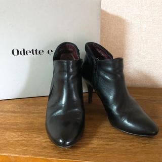 オデットエオディール(Odette e Odile)の【オデット エ オディール】ショートブーツ(ブーツ)