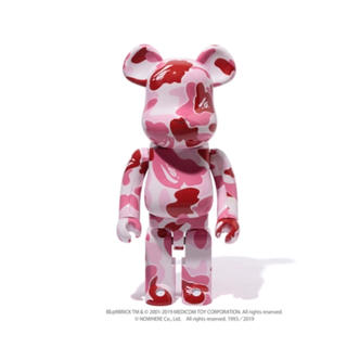 A BATHING APE - BE@RBRICK ABC CAMO 1000% ②