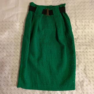 インパクティスケリー(Inpaichthys Kerri)のチェックタイトスカート(ひざ丈スカート)
