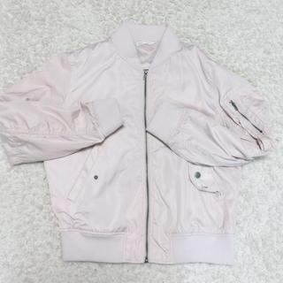 ウィゴー(WEGO)のMA-1 桜色 ブルゾン WEGO 新品未使用(ブルゾン)