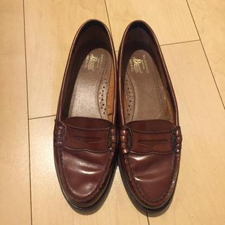 ジーエイチバス(G.H.BASS)の【ほぼ未使用】BASS ローファーレディース 23.5cm(ローファー/革靴)