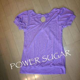パウダーシュガー(POWDER SUGAR)のPOWER SUGAR♡Tシャツ(Tシャツ(半袖/袖なし))