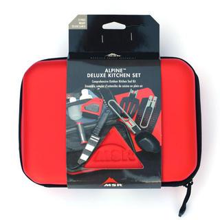 エムエスアール(MSR)の新品 MSR バーベキュー用 調理器具 アルパイン デラックス キッチンセット (調理器具)