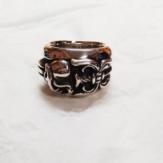 クロムハーツ(Chrome Hearts)のダガーハートリング 14号(リング(指輪))