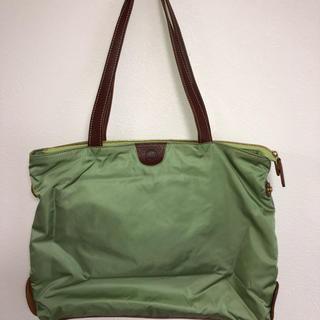 キノショウハンプ(木の庄帆布)の木の庄帆布 ファスナー付2ウェイ トートバッグ 付属袋付き(トートバッグ)