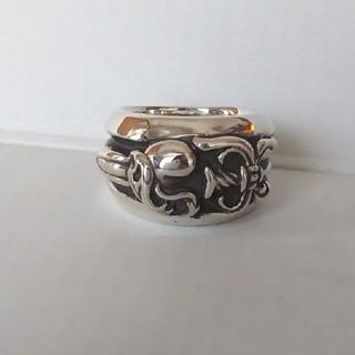 クロムハーツ(Chrome Hearts)のダガーハートリング 16号(リング(指輪))