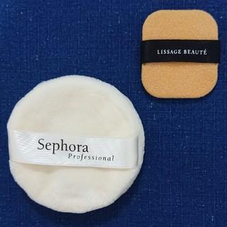 セフォラ(Sephora)のパウダーパフ 2個(フェイスパウダー)
