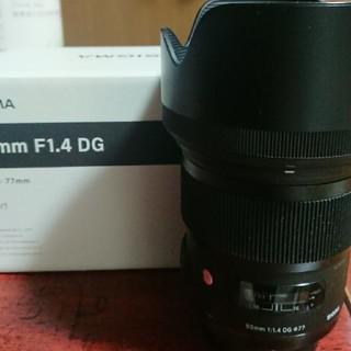 シグマ(SIGMA)のシグマ   50㎜   F1.4   art   NikonFマウント(レンズ(単焦点))