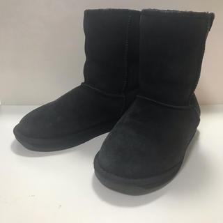 エミュー(EMU)のEMU エミュー ムートンブーツ BLK 25cm(ブーツ)