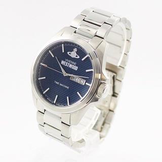ヴィヴィアンウエストウッド(Vivienne Westwood)の新品 ヴィヴィアン 腕時計 メンズ ネイビー文字盤 シルバー VV063NVSL(腕時計(アナログ))