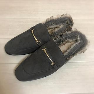 ジーユー(GU)のローファースリッパ(ローファー/革靴)