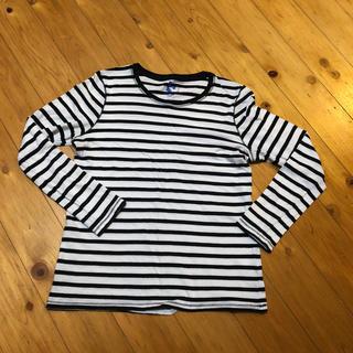 ジーユー(GU)のGUボーダーロンT(Tシャツ(長袖/七分))