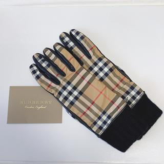 バーバリー(BURBERRY)の未使用☆バーバリー☆ヴィンテージチェック 手袋 19cm(手袋)