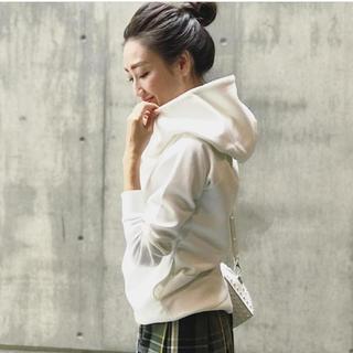 ドレスレイブ(DRESSLAVE)のpremium cotton bonding fit hoodie(パーカー)