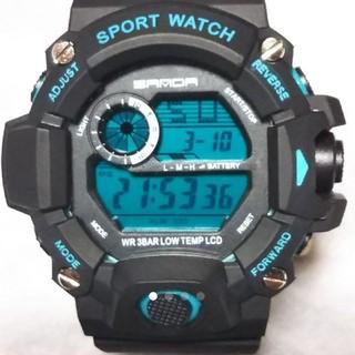 SANDA watch メンズ スポーツ ウオッチ(腕時計(デジタル))