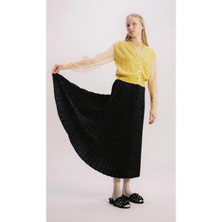 バーニーズニューヨーク(BARNEYS NEW YORK)の【新品】19SS TARO HORIUCHIプリーツスカート (ロングスカート)
